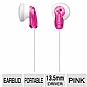 Sony MDRE9LP/PNK Fashion Earbud Headphones - Pink