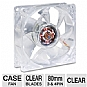 Masscool 80mm Clear Case Cooling Fan