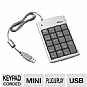 Targus USB Numeric Keypad with 2-Port Hub