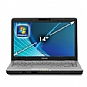 "Toshiba Satellite L515-S4960 PSLQ0U-00C006 Notebook PC - Intel Pentium Dual-Core T4300 2.1GHz, 3GB DDR2, 320GB HDD, DVDRW, 14"" Display, Windows 7 Home Premium (Refurbished)"