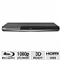 Toshiba BDX5300 3D Blu-ray Disc Player - 1080p, HDMI, USB, BD-Live, 3D Ready, Black (Refurbished)