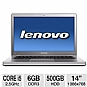 "Lenovo IdeaPad U400 0993-2JU Notebook PC - Intel Core i5-2450M 2.5GHz, 6GB DDR3, 500GB HDD, DVDRW, 14"" Display, Windows 7 Home Premium 64-bit (Refurbished)"