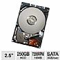 "Seagate ST9250410AS Momentus 7200.4 Hard Drive - 250GB, 7200rpm, 16MB, 2.5"", SATA (Refurbished)"