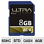 Ultra ULTRA8GBSDHC6 SDHC Flash Card - 8GB