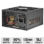 Ultra LSP550 550-Watt Power Supply - ATX, SATA-Ready, SLI-Ready, 135mm Fan, Refurbished