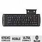 Verbatim 97537 Bluetooth Mobile Keyboard - Wireless, iPhone Stand