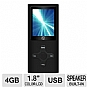 "Visual Land VL-567k-BLK Daze 4GB MP4 Video Player - 1.8"" Color Screen, Built-In Speaker, Black"
