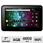 "Visual Land ME-107-8GB-BLK Prestige 7 Internet Tablet - Android 4.0, Cortex A8 1.2GHz, 7"" Multi-Touch, 512MB DDR3, 8GB Storage, WiFi, Webcam, Black"