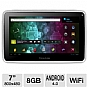 "Visual Land Prestige 7 ME-107-8GB-WHT Internet Tablet - Android 4.0 Ice Cream Sandwich, ARM Cortex A8 1.2GHz, 7"" Multi-Touch, 512MB DDR3, 8GB Storage, Webcam, White"