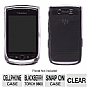 Wireless Solutions 359765 Snap-On Case for Blackberry Torch 9800 - Clear