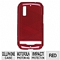 TESSCO 368766 Sprint Dura-Gel Case - For Motorola Photon 4G MB855, Red