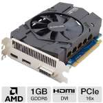 Click to view: Sapphire Radeon HD 7770 GHz Edition Video Card - 1GB GDDR5, PCI-Express 3.0 (x16), 1x Dual-Link DVI-I, 1x DisplayPort, 1x HDMI, DirectX 11, CrossFireX, Dual-Slot, Fan, (11201-17-20G)!
