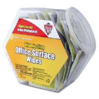 Click to view: Disinfecting Wipes Office Surface Wipes, 75 Individual Wipes!