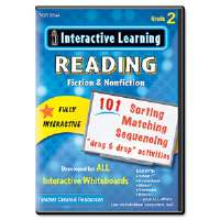 Click to view: Interactive Learning Software: Reading Fiction and Nonfiction, Grade 2!