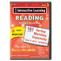 Click to view: Interactive Learning Software: Reading Fiction and Nonfiction, Grade 3!