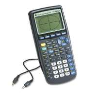 Click to view: TI-83PLUS Programmable Graphing Calculator, 10-Digit LCD!