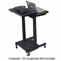 Click to view: Balt Stand-up Workstation or AV Cart (Refurbished)!