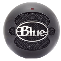 Click to view: Blue Microphones SNOWBALLGLOSSBLACK Snowball USB Microphone - Gloss Black!