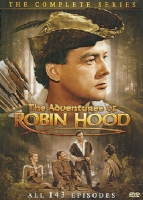 Click to view: ADVENTURES OF ROBIN HOOD:COMP SERIES - DVD Movie!