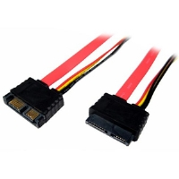Click to view: Cables Unlimited  FLT-6010-18 18-Inch Slimline SATA Cable!