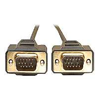 Click to view: Tripp Lite VGA Monitor Gold Cable Molded Shielded HD15 - VGA cable - HD-15 (M) - HD-15 (M) - 6 ft - molded!