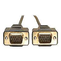 Click to view: Tripp Lite VGA Monitor Gold Cable Molded Shielded HD15 - VGA cable - HD-15 (M) - HD-15 (M) - 10 ft - molded!
