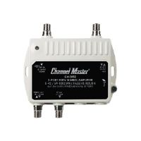 Click to view: CHANNEL MASTER CM-3412 ULTRA MINI DISTRIBUTION AMP (2 PORT)!