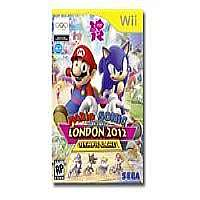 Click to view: Mario & Sonic at the London 2012 Olympic Games - Complete package - 1 user - Wii!