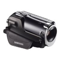 Click to view: Samsung HMX-F90 - Camcorder - High Definition - 5.0 Mpix - 52 x optical zoom - flash card - black!