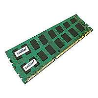 Click to view: Crucial - DDR3 - 8 GB : 2 x 4 GB - DIMM 240-pin - 1066 MHz / PC3-8500 - CL7 - 1.5 V - unbuffered - ECC - for Intel Server Board S5500, S5520; SUPERMICRO X8DAH+, X8DAH+-F; Tyan S7002, S7010, S7025!