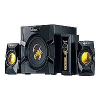 Click to view: Genius SW-G2.1 3000 - Speaker system - for PC - 2.1-channel - 70 Watt (total) - black!