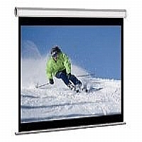 Click to view: Elite Manual Series M85XWS1 - Projection screen - 85 in ( 216 cm ) - 1:1 - Matte White!
