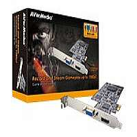 Click to view: AVerMedia Game Broadcaster HD - Video input adapter - PCI Express x1 low profile!