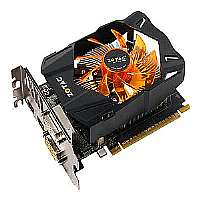 Click to view: ZOTAC GeForce GTX 650 Synergy Edition - Graphics card - GF GTX 650 - 1 GB GDDR5 - PCI Express 3.0 x16 - 2 x DVI, Mini-HDMI!