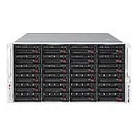 "Click to view: Supermicro SuperStorage Server 6047R-E1R36N - Server - rack-mountable - 4U - 2-way - RAM 0 MB - SAS - hot-swap 3.5"" - no HDD - Matrox G200 - GigE - Monitor : none!"