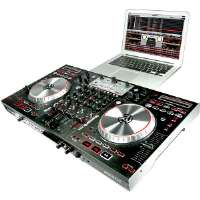 Click to view: Numark  4-Channel Digital DJ Controller with Mixer and 4-Deck Control!
