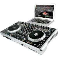 Click to view: Numark  4-Channel DJ Controller with Mixer!