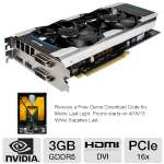 Click to view: Galaxy GeForce GTX 660 Ti GC 66NNH7DV6WXZ Video Card - 3GB, GDDR5, PCI-Express 3.0(x16), 2x Dual-link DVI, 1x HDMI, 1x DisplayPort, DirectX 11, SLI Ready, Overclocked!