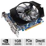 Click to view: Gigabyte GeForce GT 740 Video Graphics Card - 1GB GDDR5, 128-bit, PCIe 3.0, DirectX 11.2, OpenGL 4.4, ATX Form Factor, DVI-D, D-Sub, HDMI, Overclocked - GV-N740D5OC-1GI !