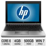 Click to view: HP EliteBook 2170p B8V46UT Notebook PC - 3rd generation Intel Core i5-3427U 1.8GHz, 4GB DDR3, 500GB HDD, 11.6