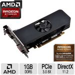 Click to view: XFX Radeon R7 250 Core Edition Graphics Card - Radeon R7 250, 1 GB GDDR5, PCI Express 3.0 x8 Low Profile, DVI, D-Sub, HDMI - R7250AELF4 - (FREE Game up to $27 value after purchase, limited offer)!