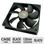 Click to view: Cooler Master - Silent Fan 120 SI2 - 120MM Case Fans (4 Pack) - R4-S2S-124K-GP!