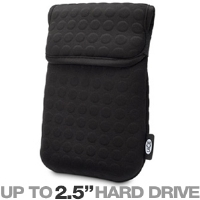 Click to view: LaCie 130886 Coat Hard Drive Case - Fits Hard Drives up to 2.5