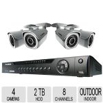 Click to view: Lorex NVR Security System - 8 Channels, 150ft of Night Vision, 1080p, HDMI- LNR4082C4!