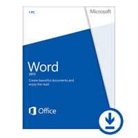 Click to view: MICROSOFT OFFICE WORD HOME AND STUDENT 2013!