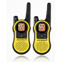 Click to view: Motorola Talkabout MH230R 2-Way Radio - Rechargeable, 23-Mile Range, Weather Channels!