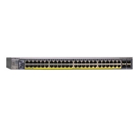Click to view: Netgear GS748TPS-100NAS Managed Network Switch - 48-Port, 10/100/1000 Mbps, Stackable, PoE!