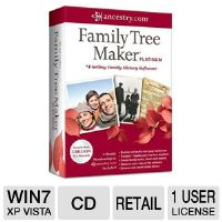 Click to view: Ancestry Family Tree Maker 2012 Platinum Software!