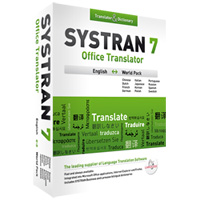 Click to view: SYSTRAN 7 OFFICE TRANSLATOR, ENGLISH WORLD PACK!