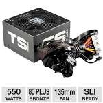Click to view: XFX - Core Edition Power Supply - 550W, 80 Plus Bronze, 135mm Fan, Active PFC, Single +12V Rail - P1550SXXB9 !